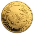1,85 oz Goldmünzenset Elefant mit 1 ct Brillant - 102083800000 - 2 - 140px
