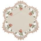 Plauener Spitze Mitteldecke Rosen - 102100300000 - 2 - 140px