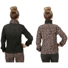2in1 Wende-Jeansjacke 'Wild Thing' black/leo 52/54 - 102145800005 - 2 - 140px