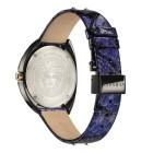 """Versace Damenuhr """"Shadov"""" Quarz Lederband blau - 102227900000 - 2 - 140px"""