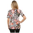 RÖSSLER SELECTION Damen-Shirt 'Happy' multicolor   - 102289400000 - 2 - 140px
