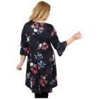 CANDY CURVES Longshirt multicolor, Blumenprint   - 102438400000 - 2 - 140px