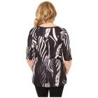 BRILLIANTSHIRTS Damen-Shirt 'Flavia' schwarz/weiß   - 102458900000 - 2 - 140px