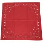 Mitteldecke Weihnachten 'Sterne', rot-weiß - 102927100000 - 2 - 140px