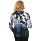 MILANO Design Pullover 'Tabiano', blau/weiß   - 102943000000 - 2 - 140px