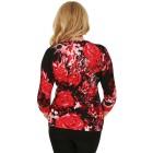 MILANO Design Pullover 'Faleri', rot/schwarz   - 102943800000 - 2 - 140px