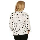 MILANO Design Pullover 'Traiano' weiß/schwarz   - 102943900000 - 2 - 140px