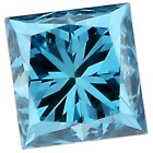 Diamant Fancy Blue Princess Cut min. 0,20 ct. - 103140600000 - 2 - 140px