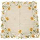 Mitteldecke Sonnenblumen, 85 x 85 cm - 103200400000 - 2 - 140px