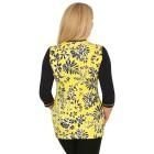 RÖSSLER SELECTION Damen-Shirt gelb/schwarz/weiß   - 103528100000 - 2 - 140px