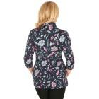 RÖSSLER SELECTION Damen-Poloshirt multicolor   - 103528300000 - 2 - 140px