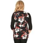 RÖSSLER SELECTION Damen-Shirt schwarz/weiß/rot   - 103528700000 - 2 - 140px
