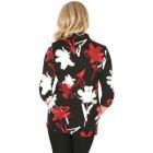 RÖSSLER SELECTION Damen-Poloshirt schwarz/rot/weiß   - 103591600000 - 2 - 140px