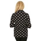 RÖSSLER SELECTION Damen-Poloshirt schwarz/weiß   - 103638600000 - 2 - 140px