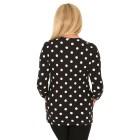 RÖSSLER SELECTION Damen-Shirt schwarz/weiß 44 - 103638800005 - 2 - 140px