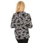 RÖSSLER SELECTION Damen-Shirt schwarz/weiß   - 103639100000 - 2 - 140px