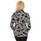 RÖSSLER SELECTION Damen-Poloshirt schwarz/weiß   - 103639200000 - 2 - 140px