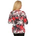 BRILLIANTSHIRTS Damen-Shirt schwarz/weiß/rot   - 103741200000 - 2 - 140px