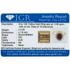 Ring 585 Gelbgold Rubin   - 104008700000 - 2 - 140px