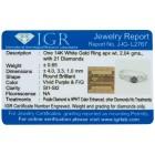 Ring 585 Weißgold Diamant 18 - 104008800002 - 2 - 140px