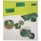 Laubsammler Garten-Profi Vario 145 x 130 cm, grün - 104103400000 - 2 - 140px