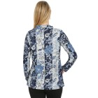 Damen-Pullover, blau/multicolor   - 104417900000 - 2 - 140px