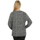 Damen-Pullover, schwarz/hellgrau   - 104419000000 - 2 - 140px
