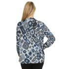 Damen-Pullover, blau/multicolor   - 104420600000 - 2 - 140px