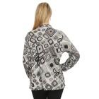 Damen-Pullover, schwarz/multicolor   - 104420700000 - 2 - 140px