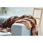 Kunstpelz-Decke in brauner Felloptik - 104427600000 - 2 - 140px