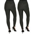 FASHION NEWS 2er Pack Jeans-Leggings schwarz/schwa   - 104471700000 - 2 - 140px