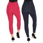 FASHION NEWS 2er Pack Jeans-Leggings blau/beere - 104472200000 - 2 - 140px