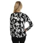 IMAGINI Damen-Pullover schwarz/weiß   - 104632100000 - 2 - 140px