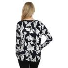 IMAGINI Damen-Pullover blau/weiß   - 104632200000 - 2 - 140px