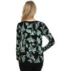 IMAGINI Damen-Pullover schwarz/grün   - 104632500000 - 2 - 140px