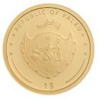 Goldmünze Glücksklee, 1 g - 104911900000 - 2 - 140px