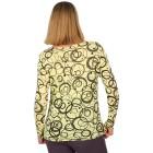 Z-ONE Damen Pullover bedruckt gelb/grau   - 104948800000 - 2 - 140px