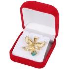 Adleranhänger 585 Gelbgold bicolor Türkis - 15281900000 - 2 - 140px
