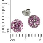 Crystelle 925 Sterling Silber Ohrstecker - 19516100000 - 2 - 140px