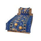 OPTIDREAM Bettwäsche blau-gelb, 2-teilig - 68289800000 - 2 - 140px