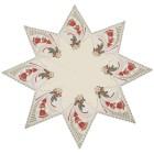 Mitteldecke Plauener Spitze, Stern, grün-rot-gold - 68404500000 - 2 - 140px