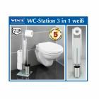 WENKO WC-Station 3in1, Edelstahl - 100226000000 - 3 - 140px