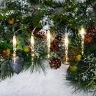 LED-Eiszapfen-Lichterkette, warmweiß - 101985700000 - 3 - 140px