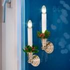 LED Weihnachtskerze 4er-Set gold mit Saugnapf - 103745600000 - 3 - 140px