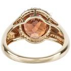 Ring 585 Gelbgold AAAZirkon orange, Diamanten Gr. 20 - 15253010303 - 3 - 140px