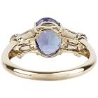 Ring 585 Gelbgold AAAATansanit, Zirkon Gr. 20 - 15253110303 - 3 - 140px