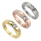 ZEEme Silver Ring 925/- Sterling Silber Zirkonia Ringgröße 058 (18,5) - 19541510504 - 3 - 140px