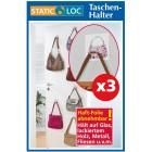 WENKO Static-Loc Taschenhalter 3er Set  - 51314900000 - 3 - 140px