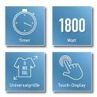 CLEANmaxx Dampfbügler - 101035300000 - 4 - 140px
