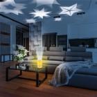 EASYmaxx LED-Kerze Projektor, Sterne, 8 x 15 cm - 68335800000 - 4 - 140px